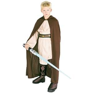 Childrens Jedi Robe Fancy Dress Costume - Large Size