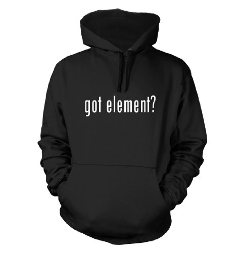 Got Element? Funny Hoodie, Black, Medium