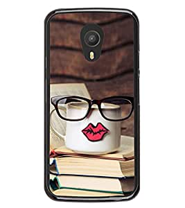 Tea and Books 2D Hard Polycarbonate Designer Back Case Cover for Meizu M2 Note :: Meizu Blue Charm Note2
