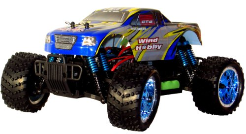 BRUSHLESS RC TRUCK 4WD BUGGY 1/16 CAR 2.4GHZ KINGLINESS