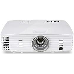 Acer P1185 Proiettore, Risoluzione SVGA, Connessione VGA/HDMI, Luminosità 3.200 ANSI, Contrasto 20.000:1, Bianco