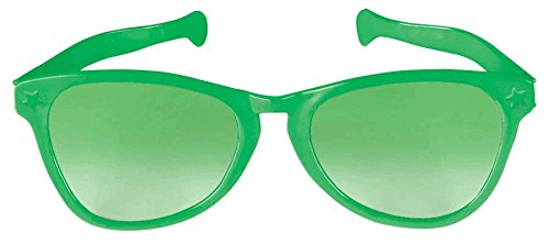 Green Jumbo Glasses - 1