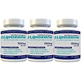 lipozene Diet Pills - Maximum Strength Fat Loss Formula - 1500mg - 90 Count Size