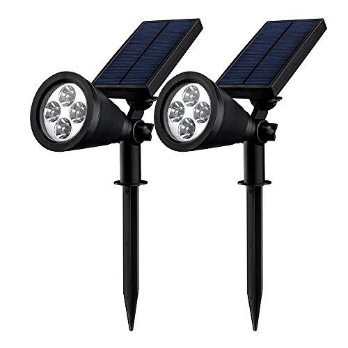 Mpow-2-Stck-Gartenleuchten-Soleil-P2-Superhelle-Solarbetriebene-Outdoor-Spotlight-Wasserdicht-fr-die-Hinterhfe-Grten-Rasen-usw