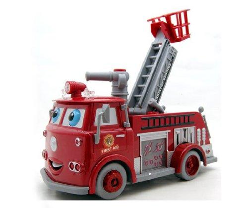Feuerwehr Einsatzfahrzeug Car RED MIT Seifenblasen Seifenblasenmaschine der Partyknaller ideal für Kindergeburtstage