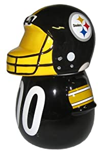 NFL Pittsburgh Steelers Jersey Cookie Jar by Forever Collectibles
