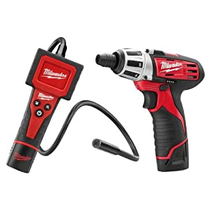 Milwaukee 2310 Lithium-Ion M-Spector Digital Inspection Camera and Compact Screwdriver Combo Kit