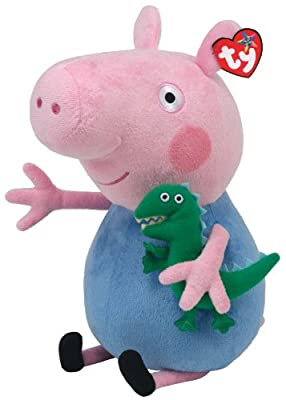 TY Peppa Pig Pig Brother George Schorsch George Pig Stuffed Animal Plush Toy
