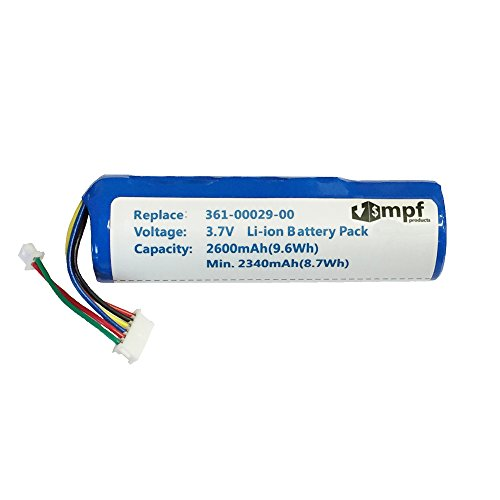 2600mAh High Capacity Extended 010-10806-01, 010-10806-20, 361-00029-00, 361-00029-01 Battery for Garmin Astro DC20, DC30, DC40 GPS Dog Tracking Collar Transmitter