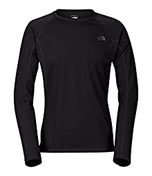 The North Face Light L/S Crew Neck Mens TNF Black L