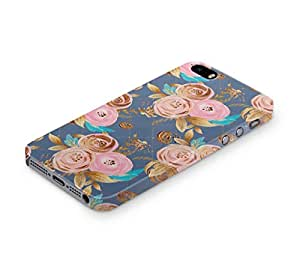 Cover Affair Floral / Flowers Printed Back Cover Case for Apple iPhone 5