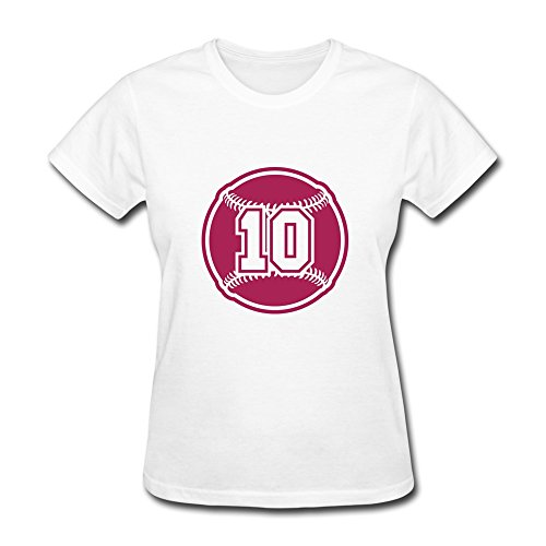100% Cotton Geek 10 Baseball Shirts For Lady'S - Round Neck front-910003