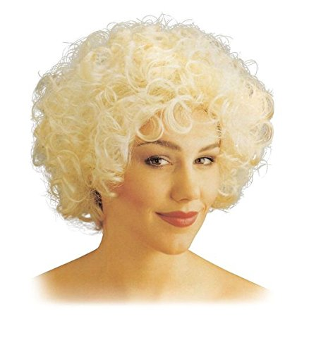 Bristol Novelty Curly Wig Short Blonde Wigs Women's One Size