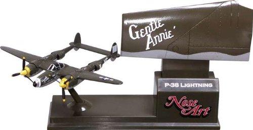 Corgi P38 Gentle Annie - Nose Art