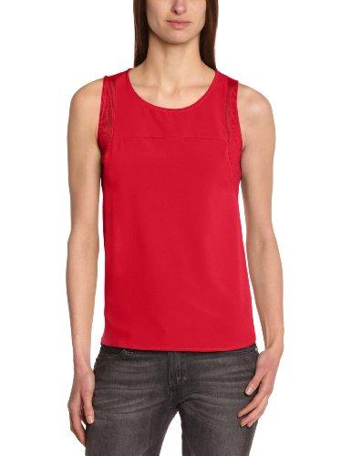 See u Soon Damen Pullunder Rot Rouge (Rose)