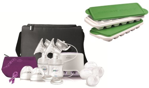 Philips Avent Comfort Double Electric Breast Pump With Breast Milk Trays