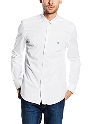 Polo Club Camisa Hombre Gentle Sport (Blanco)