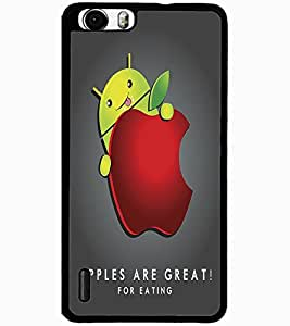 ColourCraft Funny Design Design Back Case Cover for HUAWEI HONOR 6 PLUS