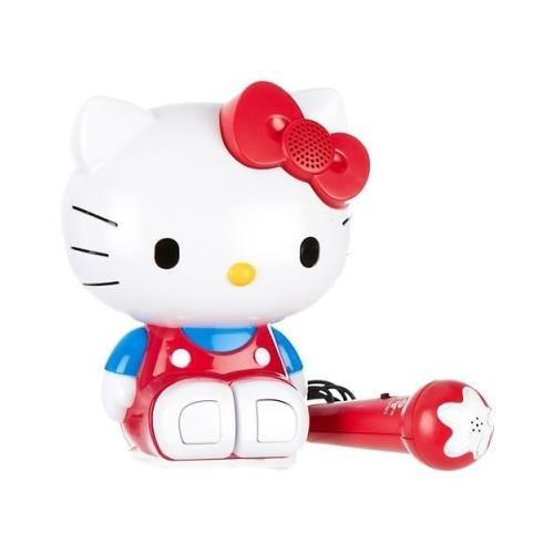 Peerless Industries 21009 Hello Kitty 21009 Singalong Karaoke Molded Builtin Radio And