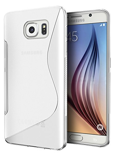 Galaxy S7 Case, Cimo [Wave] Premium Slim TPU Flexible Soft Case for Samsung Galaxy S7 (2016) - Clear