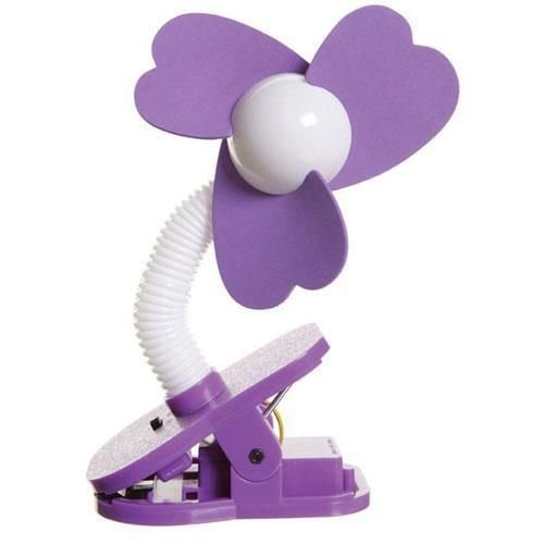 Dreambaby Stroller Fan - Purple/White