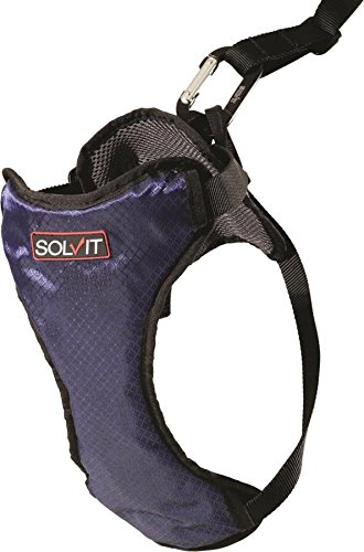 Solvit Products 62406 Deluxe Car Safety Harness Blue, Large/45-85Lbs (Pet Vehicle Safety Harness compare prices)