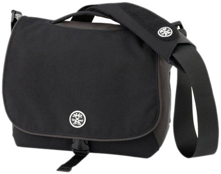 Crumpler 7 MILLION DOLLAR HOME Shoulder Photo Bag (Black/Gun Metal/Oatmeal)