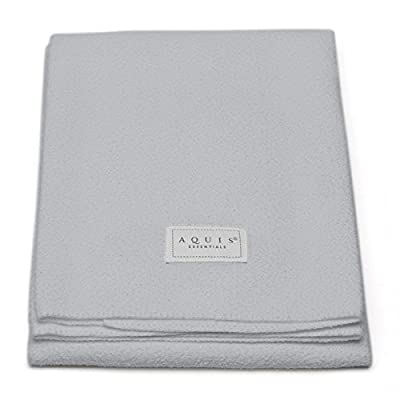 Aquis Lisse Crepe Microfiber Professional Long Hair Drying Towel (19 x 44 Inches)