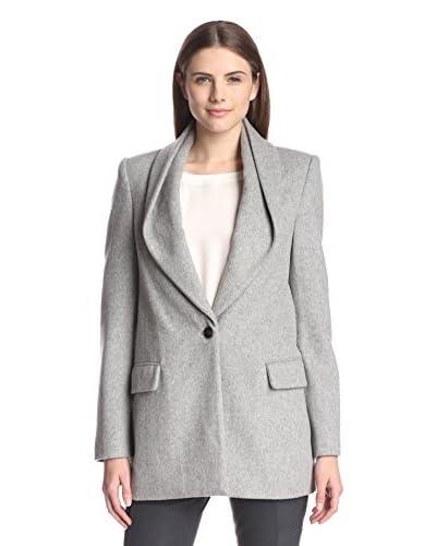 Halston Heritage Women's Coat with Draped Collar