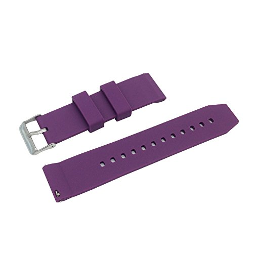 Replacement Watchband Strap for Basis Peak Ultimate Fitness and Sleep Tracker (Purple) (Basis Peak Strap compare prices)