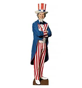 Uncle Sam - Advanced Graphics Life Size Cardboard Standup
