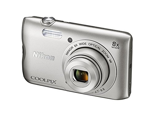 Nikon-Coolpix-A300-201MP-Point-and-Shoot-Camera-with-4x-Optical-Zoom-Silver