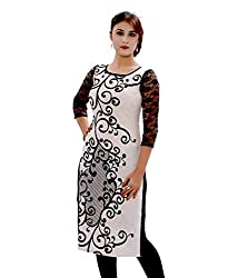 Fashion Galleria white cotton kurti