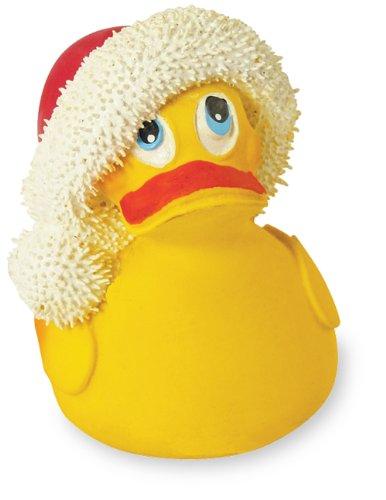 Santa Rubber Duck Bath Toy-Natural Latex Rubber -No Phthalates or BPA - 1