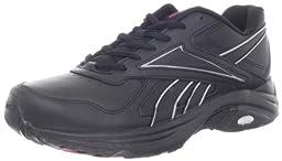Reebok Women\'s DMX Max Mania Walking Shoe,Black/Tin Grey/Cosmic Berry,8 M US