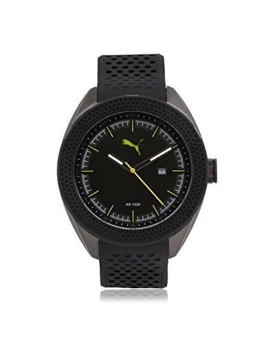 Puma Men's PU103261003 Black Stainless Steel Watch