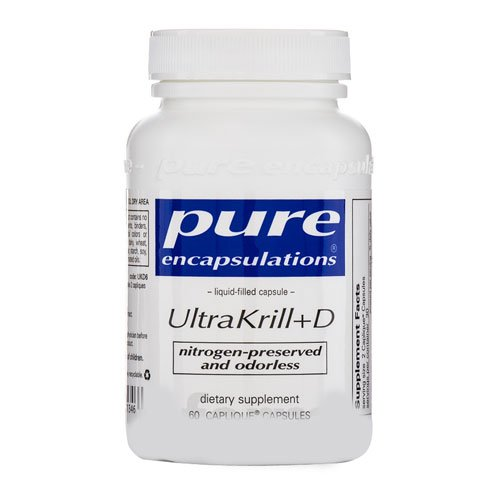 Pure Encapsulations - Ultrakrill+D 60 Capliques [Health And Beauty]