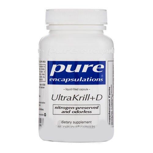 Pure Encapsulations - Ultrakrill+D 60 Capliques [Health And Beauty]
