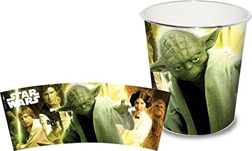 Star Wars Papierkorb mit Yoda-Motiv günstig online kaufen