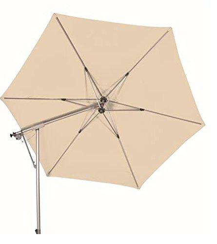 Doppler Ampelschirm Sunline II 290 cm in natur / beige - inkl. Schutzhülle und Ständer