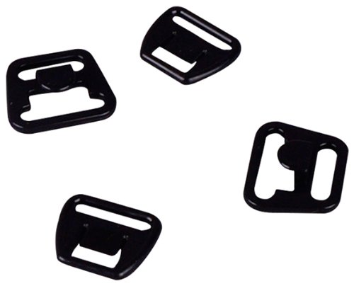 "Cheapest Price! Porcelynne Black Plastic Maternity Clip 1/2"" or 14mm 2 sets"