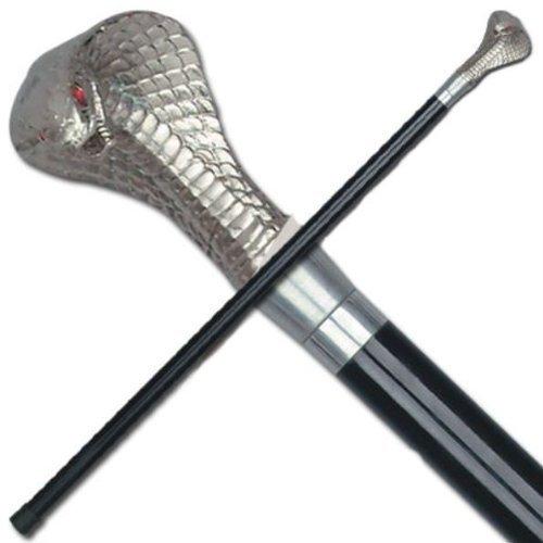 36 inch Cobra Head Cane NO SWORD SJ2255NB - Sword Canes
