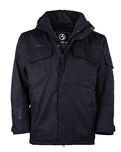 Große Größen Outdoor-Jacke dunkelblauFirst B