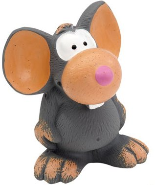Dog Toy Squeakers Marcel The Mouse Squeaky Latex Dog Toy