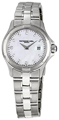 Raymond Weil Women's 9460-ST-97081 Parsifal Mother-Of-Pearl Dial Watch from Raymond Weil