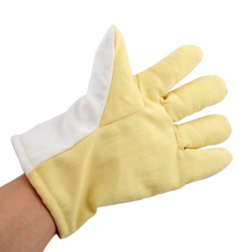 Uoften Gloves High Temperature Heat Resistant Furnace Melting Glove 300℃