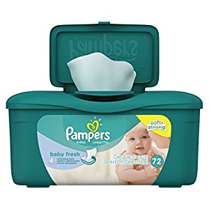 Pampers Baby Wipes, Baby Fresh Tub 72 count