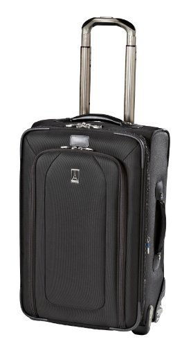 Travelpro Luggage Crew 9 22-Inch Expandable Rollaboard Suiter Bag, Black, One Size special offers