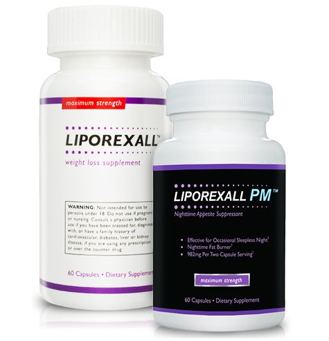 Liporexall and Liporexall PM - Appetite Suppressant - Appetite Suppressant and Fat Burner for Powerful Weight Loss - Best Fat Burner