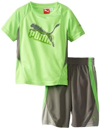 Puma Little Boys 39 Maze Cat T Shirt Clothing